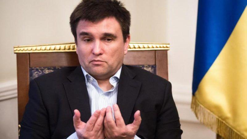 Pawło Klimkin Minister Spraw Zagranicznych Ukrainy.