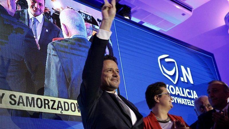 Rafał Trzaskowski zwyciężył w Warszawie juz w pierwszej turze, źródło twitter.com trzaskowski