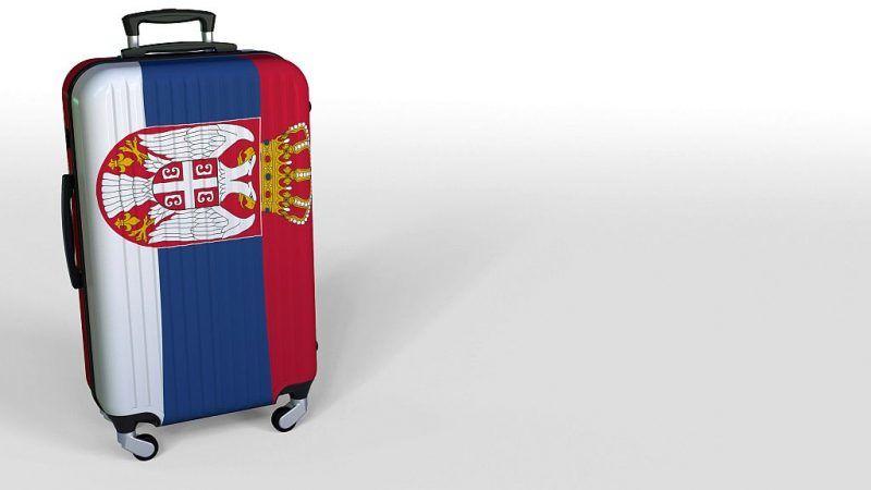 Serbowie którzy już wyjechali, nie chcą wracać do kraju, przynajmniej nie wcześniej, niż na emeryturę.