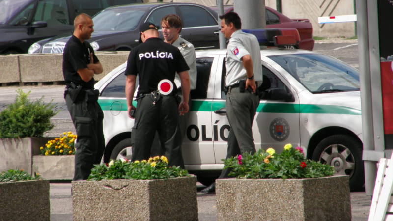 Słowacka policja, źródło: Wikipedia, fot. Lasy (Creative Commons Attribution 3.0 Unported licence)