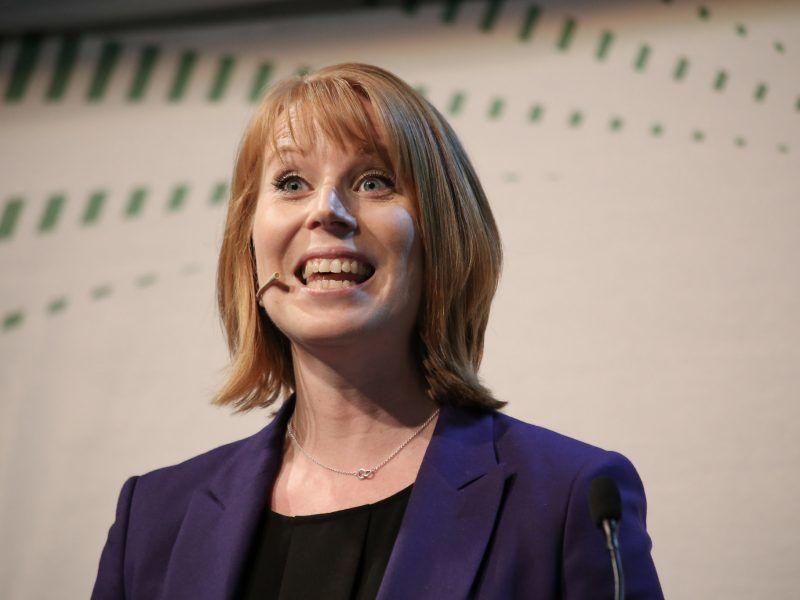 Przewodnicząca Partii Centrum Annie Lööf, źródło: Flickr/Senterpartiet (Sp)