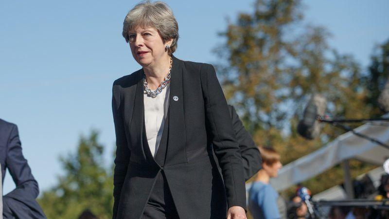 Premier Wielkiej Brytanii Theresa May, źródło: Flickr/EU2017EE Estonian Presidency, fot. Raul Mee