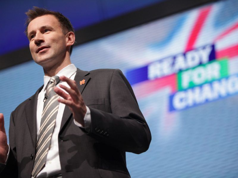 Jeremy Hunt, źródło: Flickr/Conservatives, fot. Paul Toeman