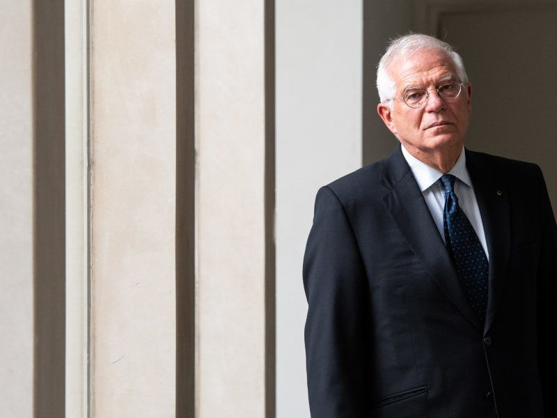 Minister spraw zagranicznych Hiszpanii Josep Borrell, źródło: Flickr/Ministerio de Asuntos Exteriores y de Cooperación Follow