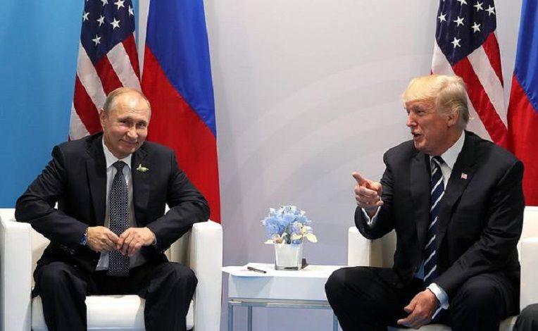 Prezydenci Rosji i USA Władimir Putin i Donald Trump, źródło kremlin.ru