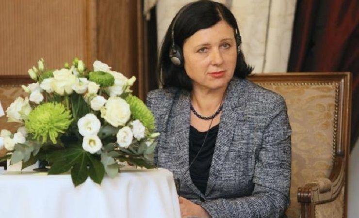 Unijna komisarz ds. sprawiedliwości Vĕra Jourová, źródło KE