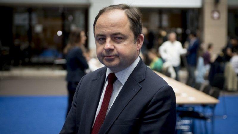 Wiceszef MSZ Konrad Szymański, źródło KPRM