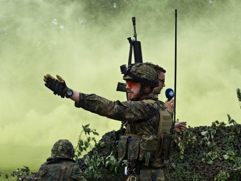 Żołnierze Bundeswehry, źródło: Flickr/kamerad.kempf