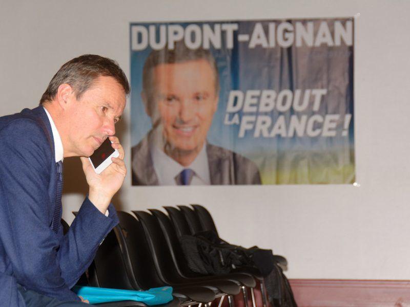 Nicolas Dupont-Aignan, źródło: Flickr, fot. Thomas Bresson