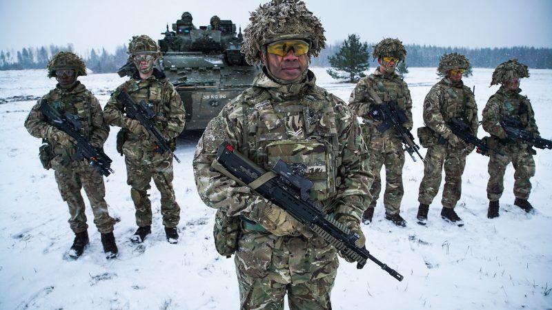 Brytyjscy żołnierze, źródło: Flickr/NATO North Atlantic Treaty Organization