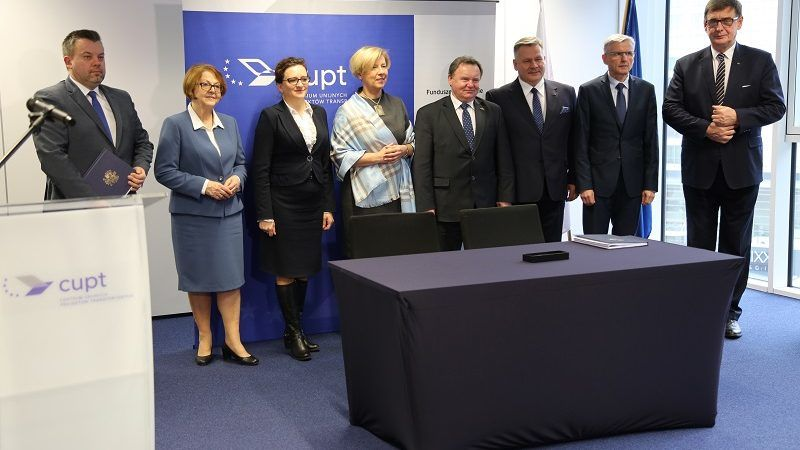 4,5 mld zł z UE na inwestycje transportowe - podpisanie umów, źródło miir.gov