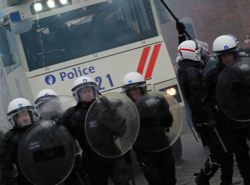Belgijska policja, źródło: Flickr, fot. Luc De Jaeger