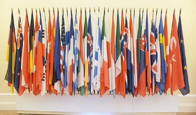 Flagi OBWE, źródło oecd.org