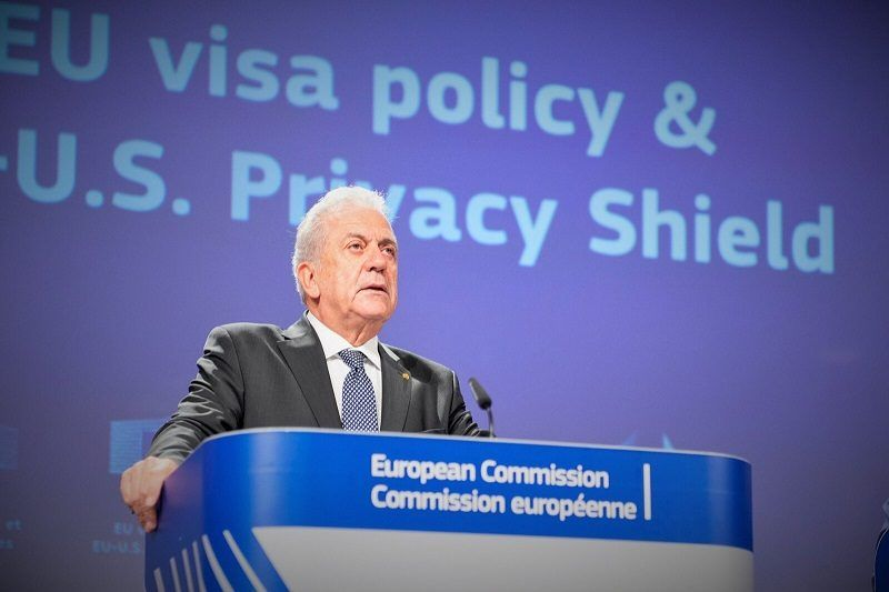 Komisarz UE ds. migracji Dmitris Avramopulos, źródło KE