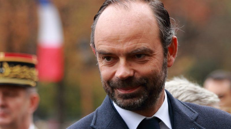 Premier Francji Edouard Philippe, źródło: © Rémi Jouan, CC-BY-SA, GNU Free Documentation License, Wikimedia Commons