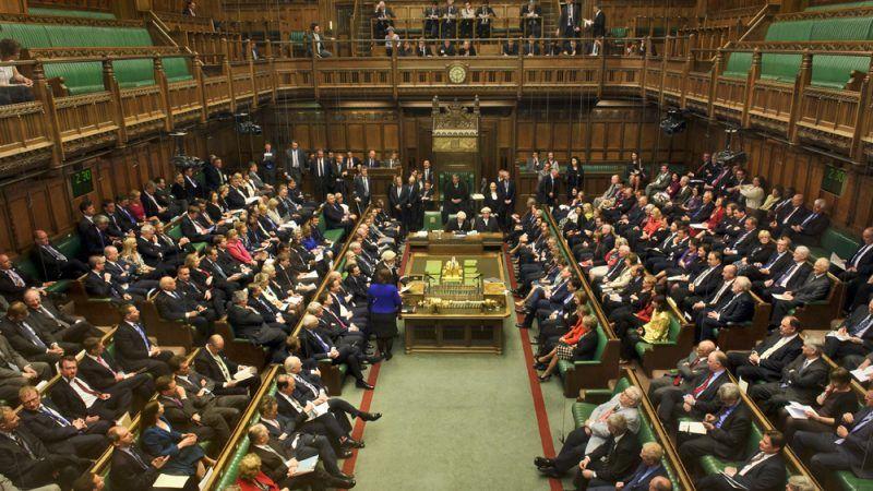 Sala obrad Izby Gmin, źródło: Flickr/UK Parliament