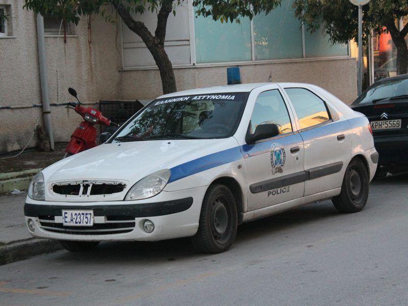 Samochód greckiej policji, źródło: Flickr, fot. Charlie