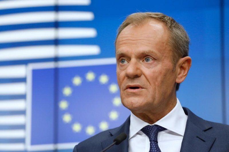 Szef Rady Europejskiej Donald Tusk, źródło consilium