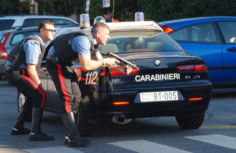 Włoscy karabinierzy, źródło: Wikipedia, fot. Laura Kreider, U.S. Army