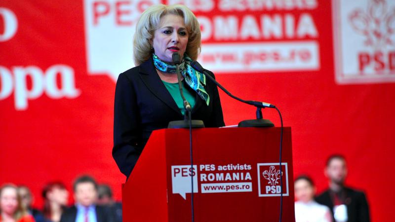 Premier Rumunii Viorica Dancila, źródło: Flickr/Partidul Social Democrat