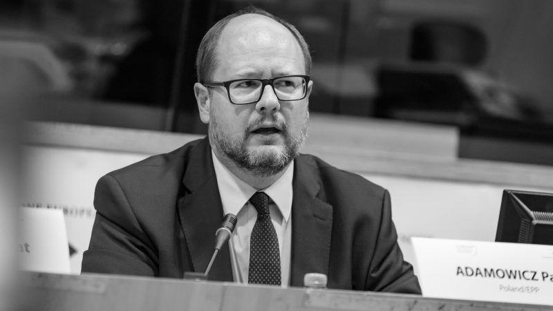 Paweł Adamowicz podczas debaty w Europejskim Komitecie Regionów w Brukseli, źródło: Flickr/European Committee of the Regions, fot. Aurore Belot/Belga Photo