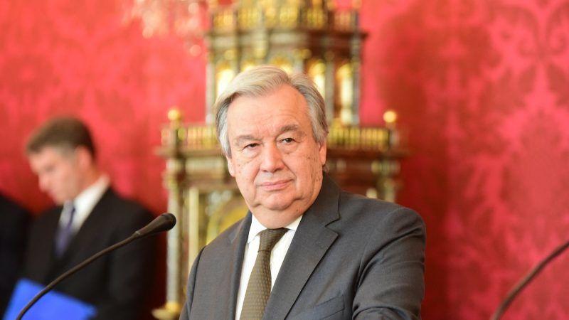Sekretarz generalny ONZ Antonio Guterres, źródło: Flickr/UNIS Vienna, fot. Lilia Jiménez-Ertl