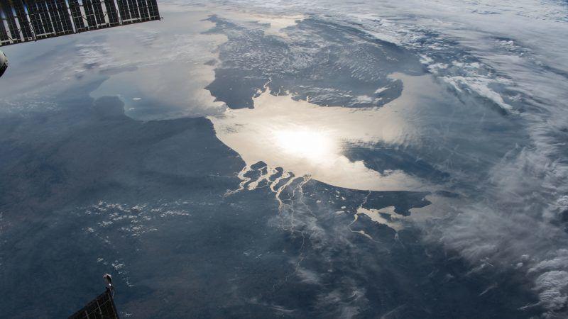 Kanał La Manche sfotografowany z Międzynarodowej Stacji Kosmicznej, źródło: Flickr/NASA Johnson