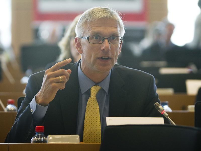Premier Łotwy Krišjānis Kariņš, źródło: Flickr/EPP Group