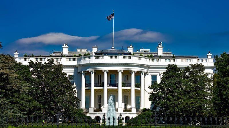 Biały Dom w Waszyngtonie, źródło: Pixabay:12019