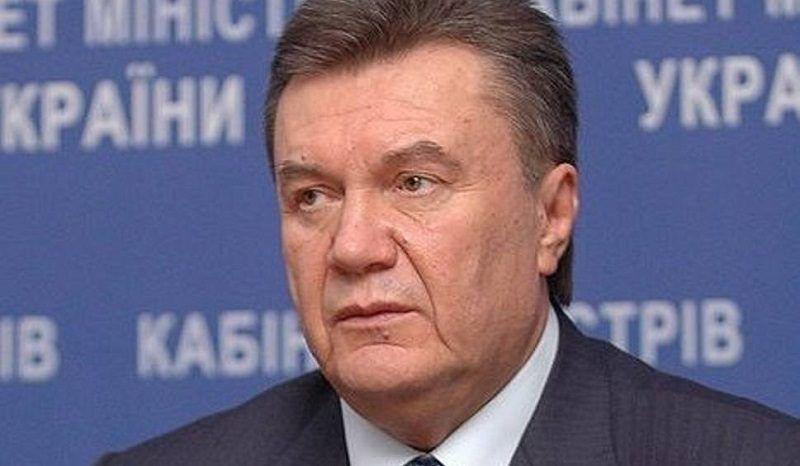 Były prezydent Ukrainy Wiktor Janukowycz, źródło wikipedia