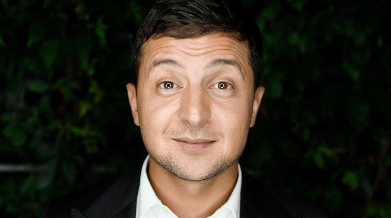 Kandydat na prezydenta Ukrainy, aktor Wolodymyr Zełenski, źródło wikimedia