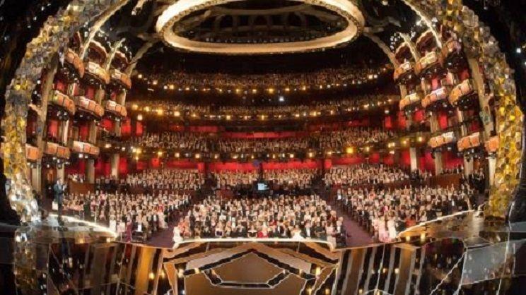 Sala wręczania Oscarów, źródło oscars.org