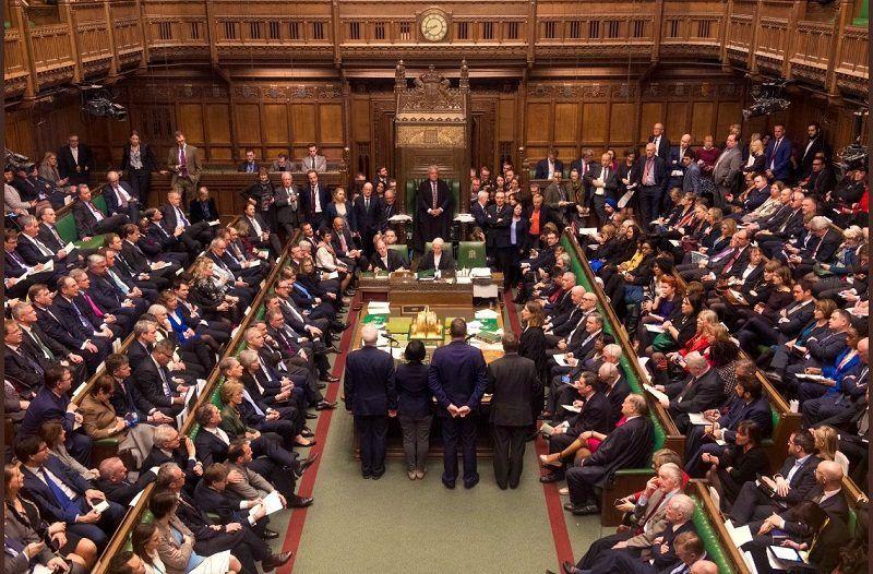 Styczniowe głosowanie w Izbie Gmin nad umową z UE ws. brexitu, źródło twitter