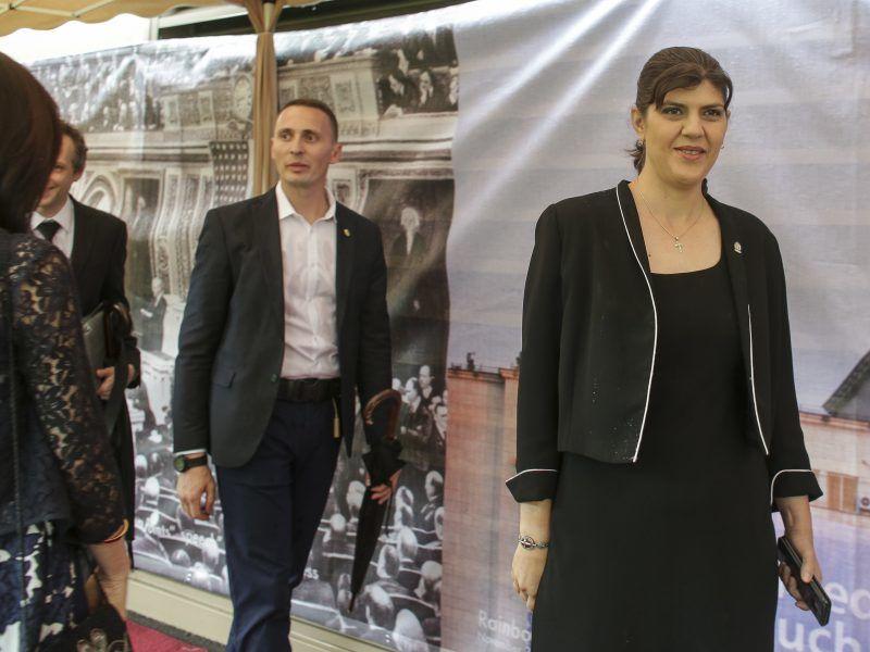Laura Codruta Kovesi (z prawej), źródło: Flickr/U.S. Embassy Romania/ fot. Octav Ganea/Inquam Photos