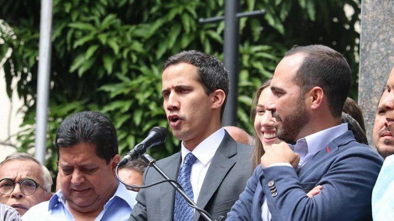 Przywódca wenezuelskiej opozycji Juan Guaidó, źródło twitter