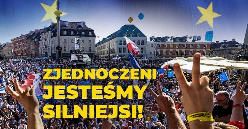 Koalicja Europejska plakat wyborczy, źródło twitter keuropejska