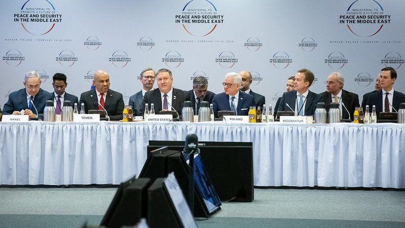 Konferencja bliskowschodnia w Warszawie, źródło Tymon Markowski MSZ