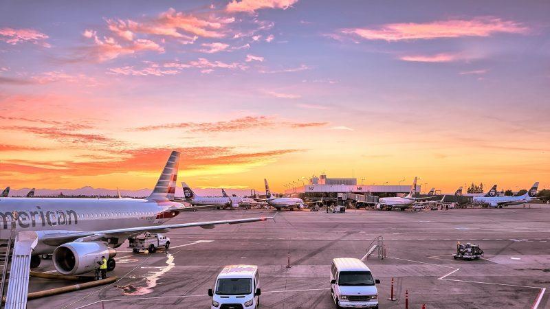 Lotnisko, źródło: pxhere (CC0 Public Domain)