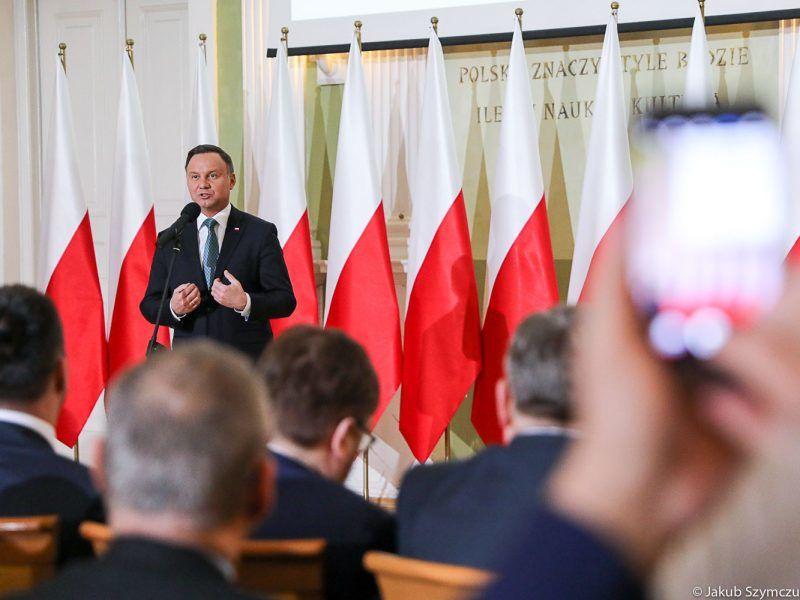 Prezydent Andrzej Duda inauguruje Porozumienie Rolnicze. Fot. Jakub Szymczuk : KPRP