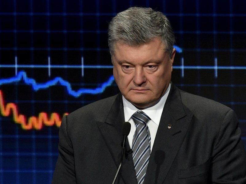 Prezydent Ukrainy Petro Poroszenko, źródło twitter