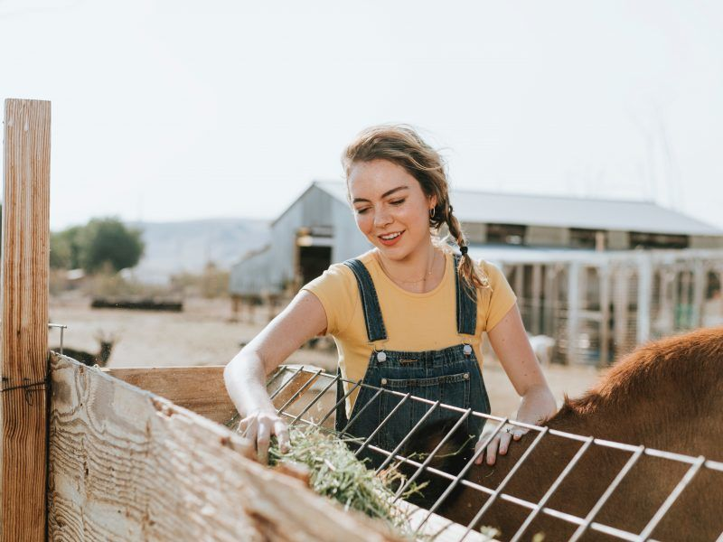 Young farmer, photo by rawpixel on Unsplash