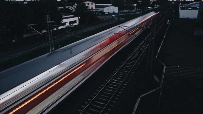 High-speed train, photo by Thanos Pal on Unsplash