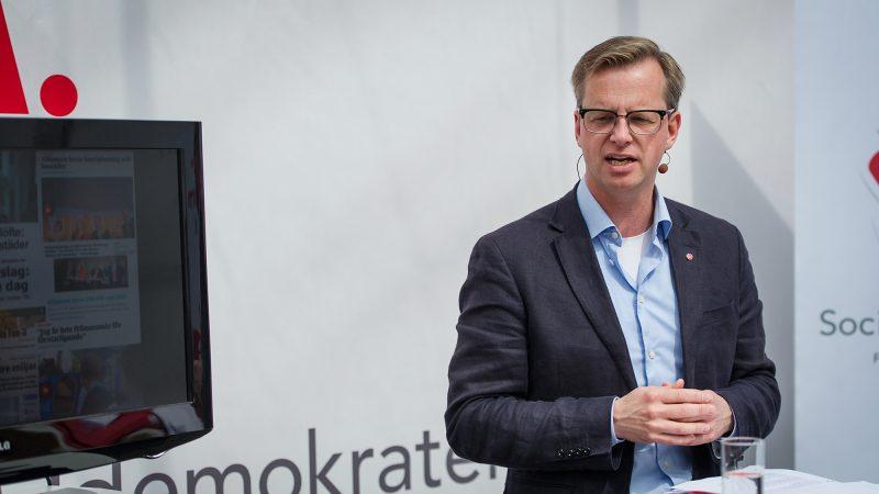 Minister spraw wewnętrznych Szwecji Mikael Damberg, źródło: Flickr/Socialdemokraterna, fot. Anders Löwdin