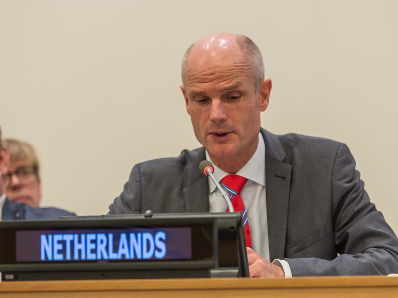 Minister spraw zagranicznych Holandii Stef Blok, źródło: Flickr/he Official CTBTO Photostream