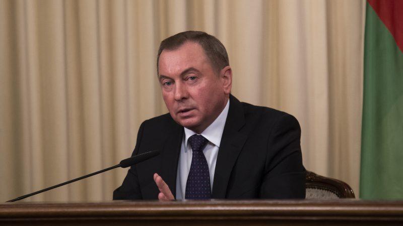 Minister spraw zagranicznych Białorusi Uładzimir Makiej, źródło: Flickr/МИД России