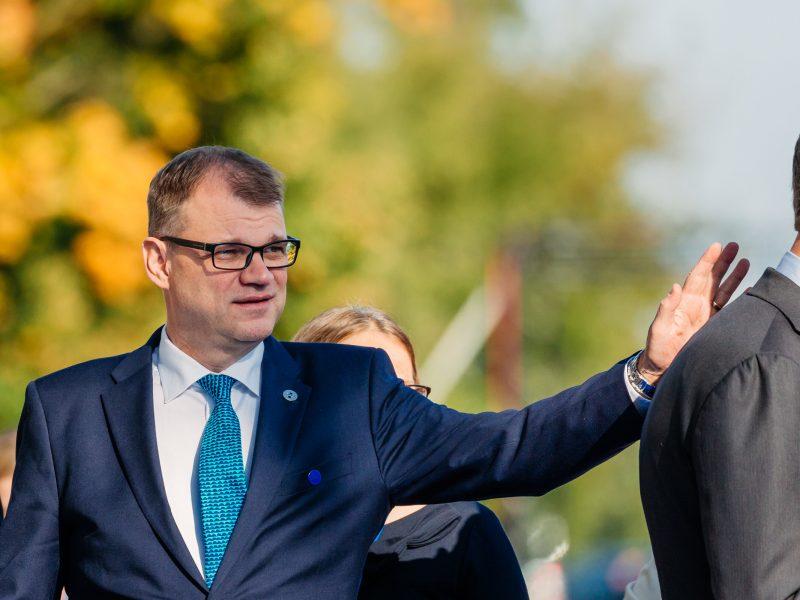 Premier Finlandii Juha Sipilä, źródło: Flickr/ EU2017EE Estonian Presidency, fot. Arno Mikkor (EU2017EE)
