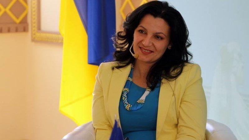 Iwanna Kłympusz-Cyncadze, wicepremier Ukrainy, minister ds. integracji z UE i NATO
