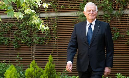 Josep Borrell. Fot. Ministerstwo Spraw Zagranicznych Królestwa Hiszpanii exteriores.gob.es