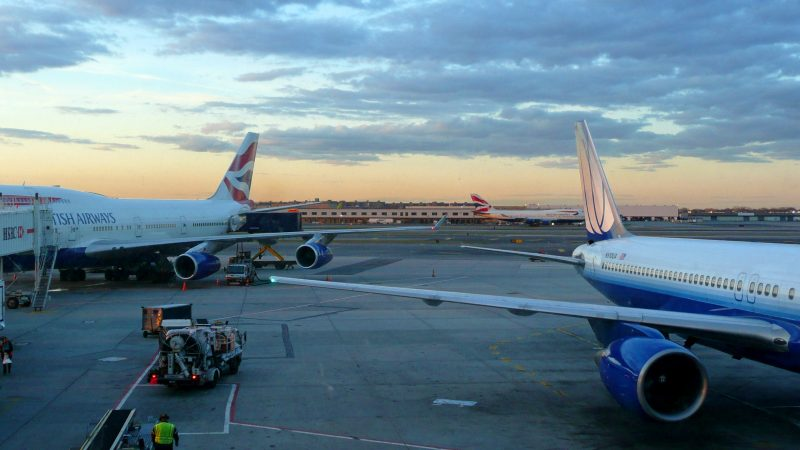 Lotnisko Heathrow, źródło: pexels, fot. Brett Jordan