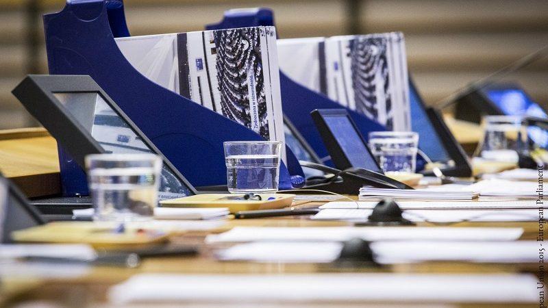 Parlament Europejski, miejsca europosłów, źródło PE